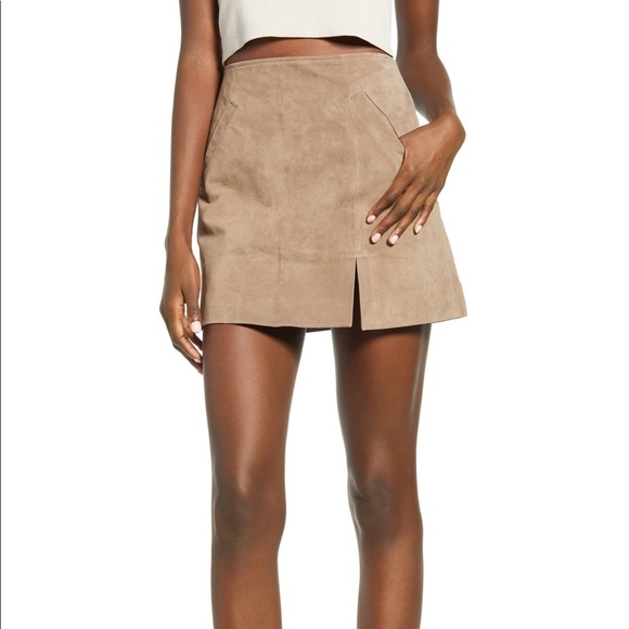 Blank NYC Dresses & Skirts - Blank NYC | Suede Miniskirt | Size 26